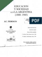 Economía y Educación Tedesco J