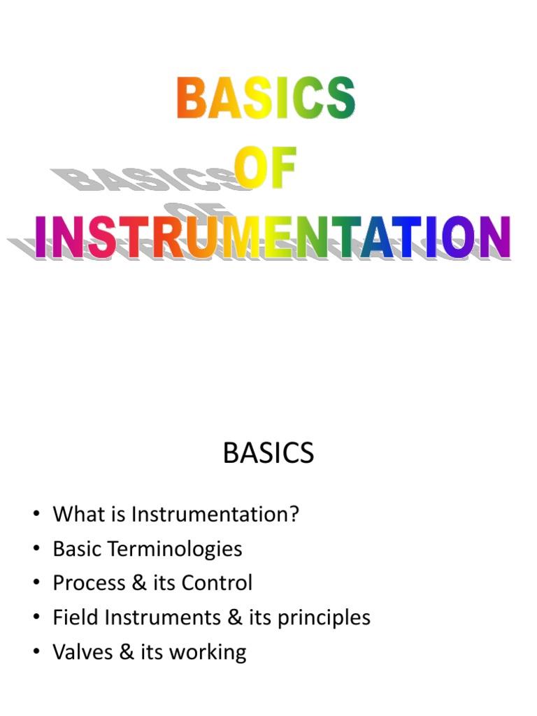 Instrumentation Wiring Basics Pdf