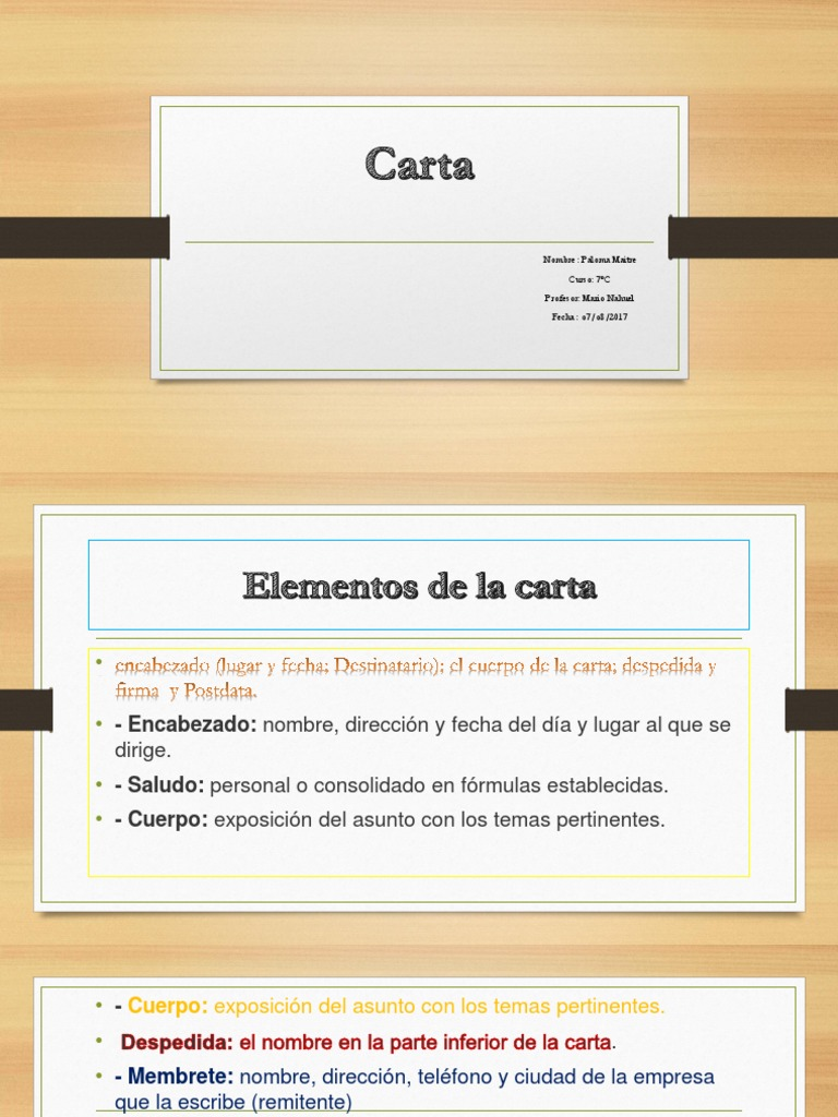 Dorable Reiniciar El Encabezado De La Carta Elaboración - Ejemplo De ...