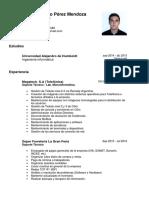 CV Jose Perez
