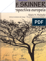 B. F. Skinner, Uma Perspectiva Europeia - Marc N. Richelle, 2014 [INDEX] (1)