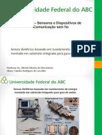 EEL-108 - Sensores e Dispositivos de Comunicação Sem Fio