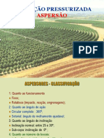 Aspersores - Classificação e Tipos.ppt