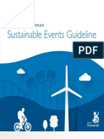 Sustainable Events Guidelines