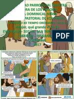 Hojita Evangelio Domingo Xx to a 17 Serie