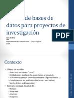 Diseno Bases de Datos 2014