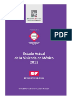 Estado Actual de La Vivienda en México