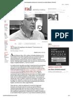 ¿Es El Destino Del Populismo Derechizar...?Con Alberto Moreiras
