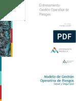 SSO_Entrenamiento Modelo Gestión Operativa de Riesgos