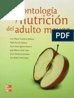 Gerontología y Nutrición Del Adulto Mayor - Luis Miguel Gutiérrez Robledo