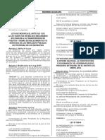 Ley que declara de necesidad pública e interés nacional la construcción y equipamiento del desembarcadero pesquero artesanal en el distrito de Cerro Azul