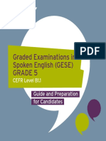 GESE Grade 5 Guide for Candidates