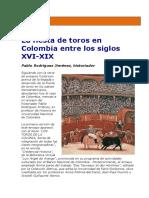 Ensayo. La fiesta de toros en Colombia.pdf
