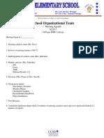 SOT Mtg Agenda 8-22-17