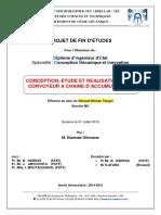 Conception, Etude Et Realisati - Elannab Othmane_