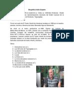 Dramaturgos Hondureños Con Informacion