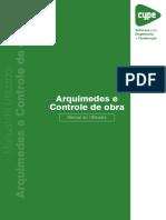 Arquimedes e Controle de Obra Manual Do Utilizador