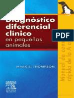 Diagnostico Diferencial Clinico en Pequenos Animales Mark Thompson PDF