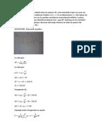 Resolución problemas de fisica 2