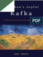 Anke Snoek Agambens Joyful Kafka Finding Freedom Beyond Subordination