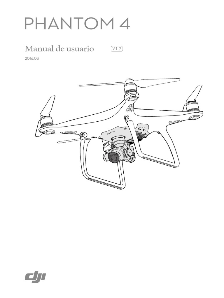 Manual de usuario DJI Phantom 4_v1.2_Español