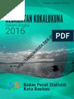 Kecamatan Kokalukuna Dalam Angka 2016