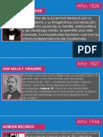 Cronologia de Autores Guatemaltecos