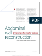 Abdominal Wall Reconstruction Enhancing Outcomes.11