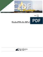 CLDF Psicologia Aula 01 Psicologia Nova
