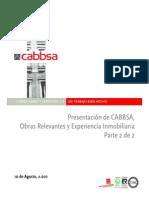 CABBSA - Presentación Parte II
