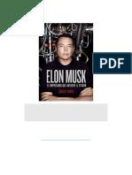 Elon Musk El Empresario Que Anticipa El Futuro