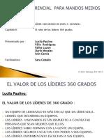 EL VALOR DE LOS LÍDERES 360 GRADOS servicio  al cliente Ferretería Bellon.pptx