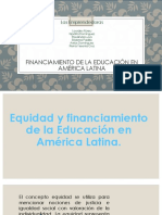 Financiamiento en America Latina (1)