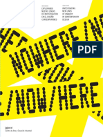 Nowhere.Now.Where. Nuevas lineas de investigacion Diseño Contemporaneo.pdf