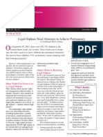 ABA Child Law Practice December 2014