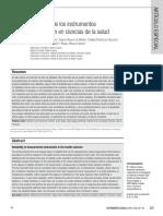 Fiabilidad de Los Instrumentos de Medición en Ciencias de La Salud
