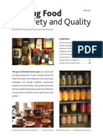Storing Food for Safety Quality
