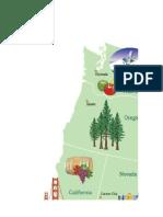 Mapa representativo EUA