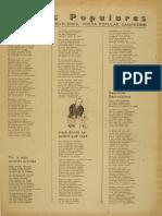 Versos populares de Raimundo Navarro (ca. 1890)