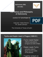 The History and Philosophy of Astronomy Lecture 10