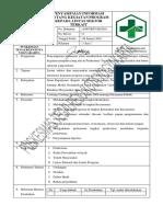 4.2.2.3. Sop Penyampaian Infomasi Kegiatan Informasi Kegiatan Program Kepada Lintas Sektor