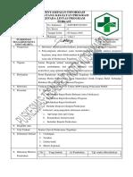 4.2.2.2 Sop Penyampaian Informasi Tentang Kegiatan Program Dan Bukti Pelaksanaan Penyampaian Informasi