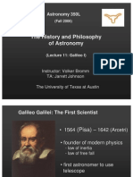 The History and Philosophy of Astronomy Lecture 11