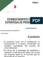 Tema 1 Estrategia de Productos