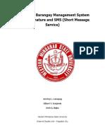 Web Based Barangay Managemen System With E-Signature and SMS