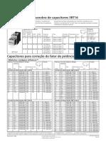 Catálogo Contator Para Capacitor