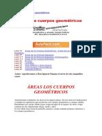 0 Areas de Cuerpos Geometricos