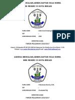 Agenda Mengajar Cover