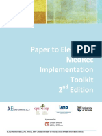 Paper to Electronic MedRec Implementation ToolKit