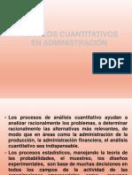 Administración Metodos Cuantitativos